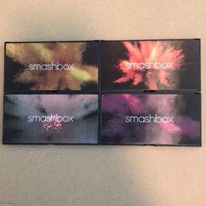 Set of 4 Authentic Smashbox Cover Shot Palettes